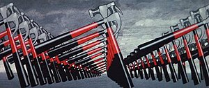 """Pink Floyd – The Wall - The iconic """"marching hammers"""""""
