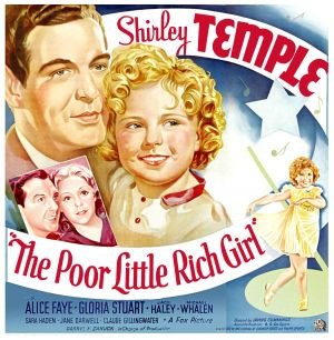Poor Little Rich Girl (1936 film) - Theatrical poster