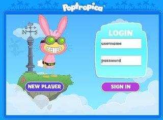 <i>Poptropica</i> video game