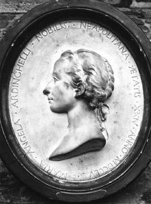 Maria Angela Ardinghelli - Portrait medallion by Jean-Jacques Caffieri (1755). Archives de l'Académie des Sciences, Paris. © Académie des Sciences—Institut de France