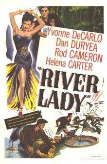 Afiŝo de River Lady (filmo).jpg