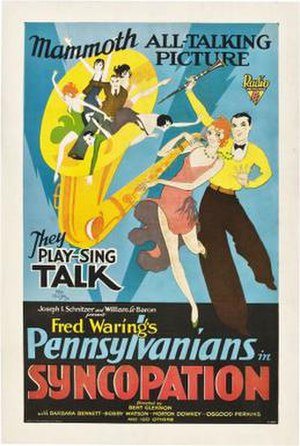 Syncopation (1929 film) - Film poster