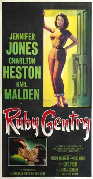 Ruby Gentry - Image: Poster of the movie Ruby Gentry
