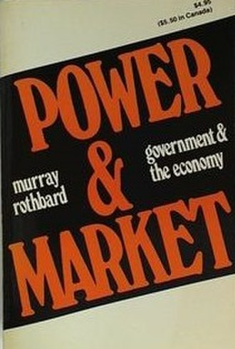 Power and Market - Cover of the 1977 edition