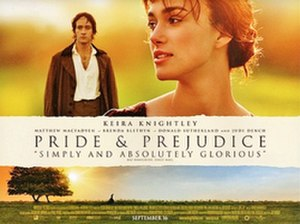 Pride & Prejudice (2005 film) - UK cinema release poster