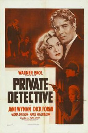 Private Detective (film) - Theatrical release poster