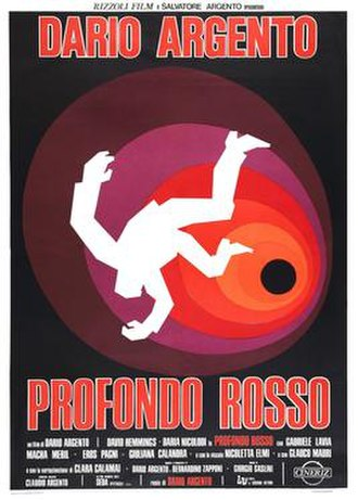 Deep Red - Italian film poster