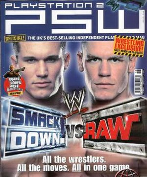 PlayStation World - Cover of PSW