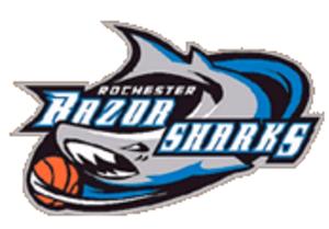 Rochester Razorsharks - Image: Razorsharks PBL