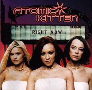 Right Now (Atomic Kitten album) - Image: Right Now (Atomic Kitten album cover art)