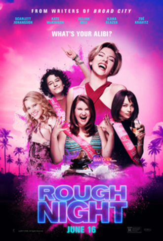 Rough Night - Theatrical release poster