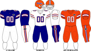 2011 Florida Gators football team - Image: SEC Uniform UF