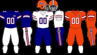 2011 Florida Gators football team - Image: SEC Uniform UF