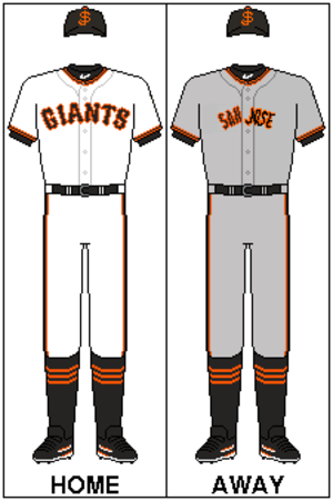 San Jose Giants - San Jose Giants uniforms