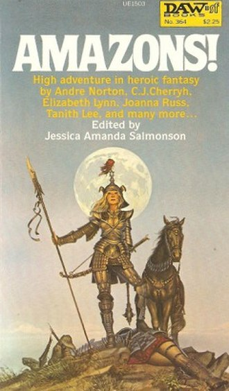Amazons! - Cover of the first edition.