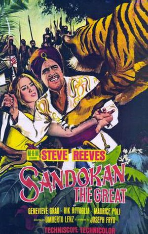 Sandokan the Great (film) - Image: Sandokan the great movie poster 1965