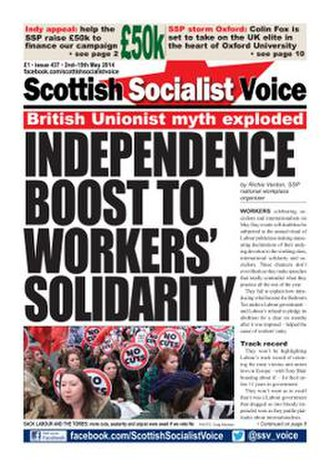 "Scottish Socialist Voice - ""Scottish Socialist Voice"""