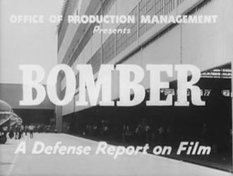 Bomber: A Defense Report on Film - Title frame