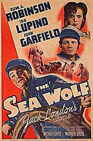 The Sea Wolf (1941 film) - Theatrical release poster