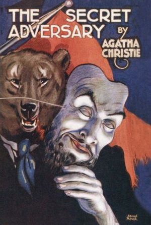 The Secret Adversary - Dust-jacket illustration of the first UK edition