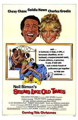 Seems Like Old Times (film) - Promotional poster