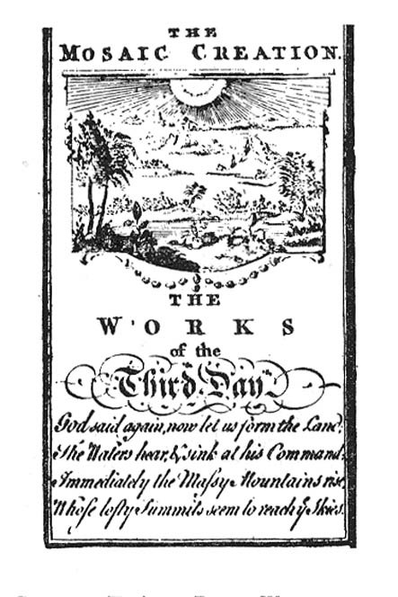 Seven Days of Creation - 1765