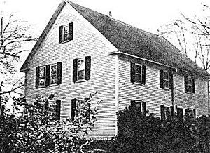 Sewall–Ware House - Photo c. 1986