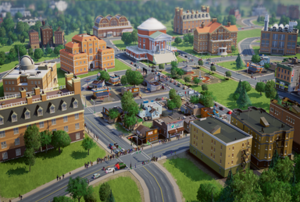 SimCity (2013 video game) - A user-built city in SimCity that specializes in education