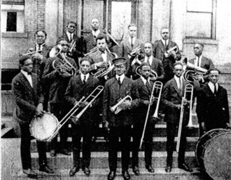 Simmons College of Kentucky - Photo of the 1922 Simmons College Band
