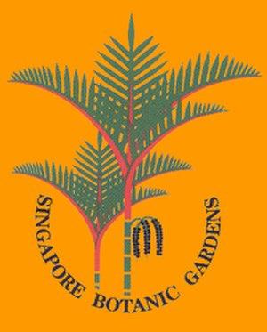 Singapore Botanic Gardens - Singapore Botanic Gardens logo, Cyrtostachys palm