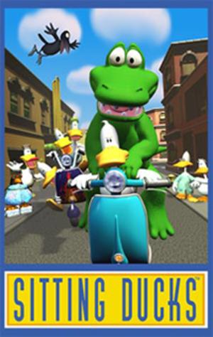 Sitting Ducks (TV series) - Image: Sitting Ducks Poster