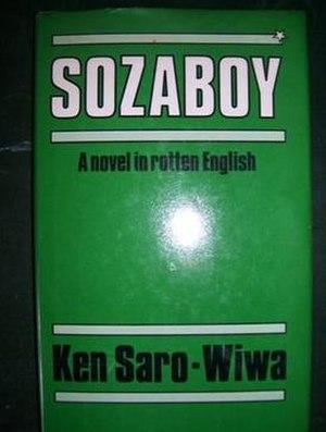 Sozaboy: A Novel in Rotten English - First Edition Cover