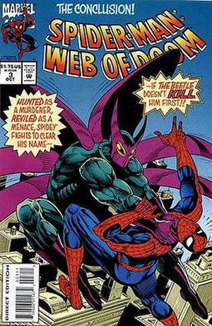 Beetle (comics) - Image: Spider Man Web of Doom 3
