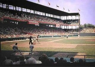 Sportsmans Park former baseball park in St. Louis