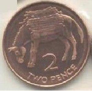 Saint Helena pound - Image: St helena 2p