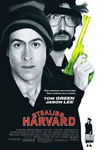 Stealing Harvard - Theatrical release poster