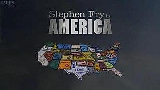 Stephen Fry in America - Image: Stephen Fry Americatitle