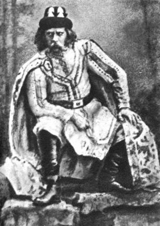 Mlada (Rimsky-Korsakov) - Fyodor Stravinsky as Mstivoy in the premiere