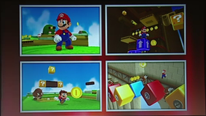 Super Mario 3D Land - Super Mario 3D Land screenshots shown at GDC 2011.