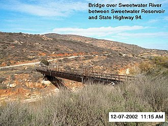 Sweetwater River (California) - Image: Sweetwaterriver 2