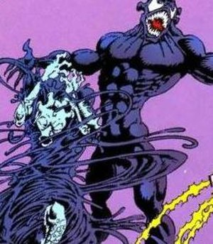Symbiote (comics) - The symbiote bonding with a host. The symbiote needs a host to survive