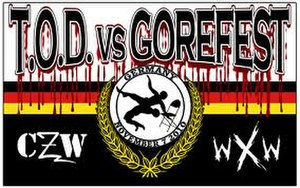 CZW Tournament of Death - Promotional Poster of TOD vs. GoreFest
