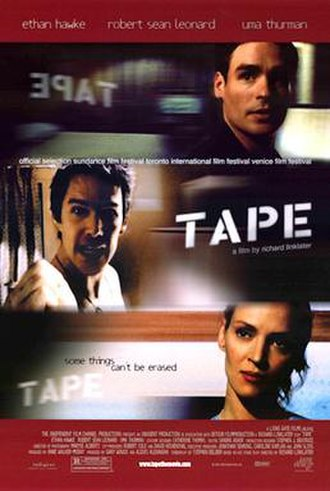 Tape (film) - Theatrical release poster