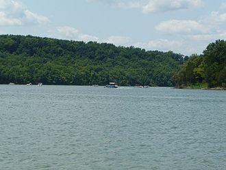Taylorsville Lake - Image: Taylorsville lake