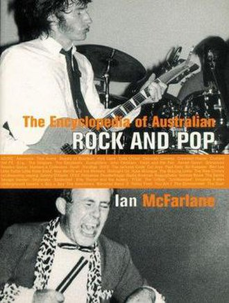 Encyclopedia of Australian Rock and Pop - Image: The encyclopedia of australian rock and pop cover