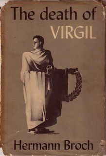<i>The Death of Virgil</i> novel by Hermann Broch