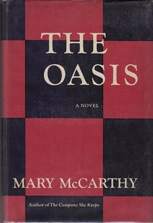 <i>The Oasis</i> (novel) book by Mary McCarthy
