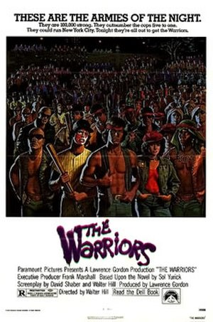 The Warriors (film) - Theatrical release poster