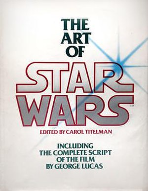 The Art of Star Wars - Cover of the 1st edition of The Art of Star Wars (1979)