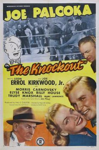 Joe Palooka - The Knockout (1947) with Joe Kirkwood, Jr. as Joe Palooka.